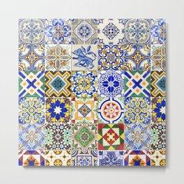 Azulejo — Portuguese ceramic #15 Metal Print