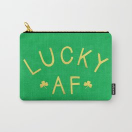 Lucky AF Carry-All Pouch
