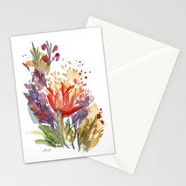 Jeweltone Buds Stationery Cards