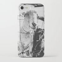 goat iPhone & iPod Cases featuring Goat by Leah Flores