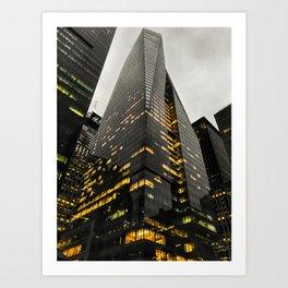 NYC Building Art Print