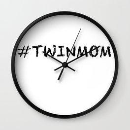 Twinmom Wall Clock