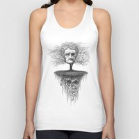 edgar allen poe Tank Tops featuring Edgar Allan Poe, Poe Tree by Newmanart7 -- JT and Nancy Newman, Art a