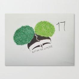 Ruff and Tuff Canvas Print