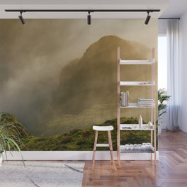 Dawn in Fogo crater Wall Mural
