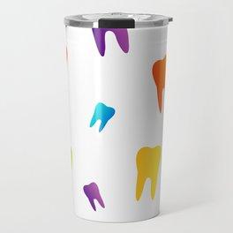 Colorful Sweet tooth Travel Mug