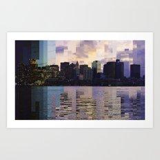 East Boston Timelapse Art Print