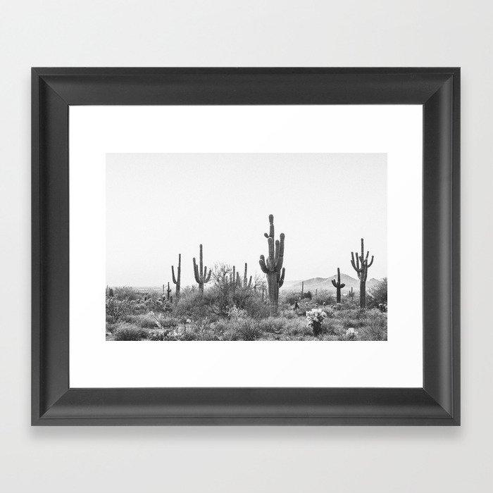 DESERT / Scottsdale, Arizona Gerahmter Kunstdruck