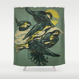 The Gatherers Shower Curtain