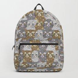 Triple Kitties Backpack