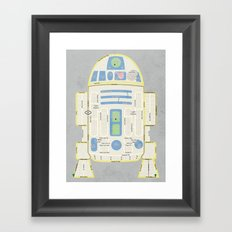 R2Detour Framed Art Print