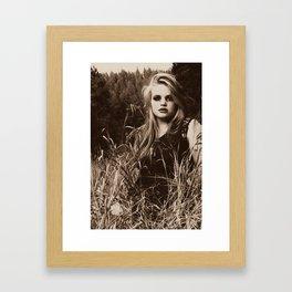 Unforgotten. Framed Art Print