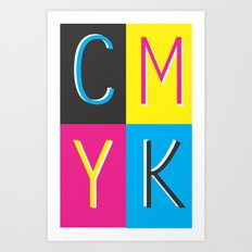 CMKY Art Print