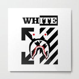 X Off White bape Metal Print
