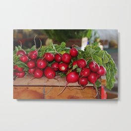 Radishes II Metal Print