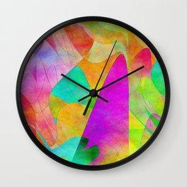 Abstract 2017 007 Wall Clock