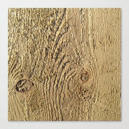 Unrefined Wood Grain Canvas Print