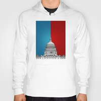 politics Hoodies featuring American Politics by politics