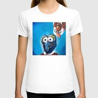 """muppet T-shirts featuring Gonzo and Camilla Muppet Painting """"Still a Better Love Story"""" by Kristin Frenzel"""