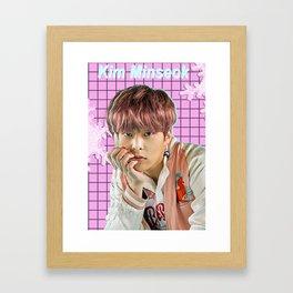Kim Minseok Framed Art Print
