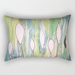 Praise Leaves Rectangular Pillow