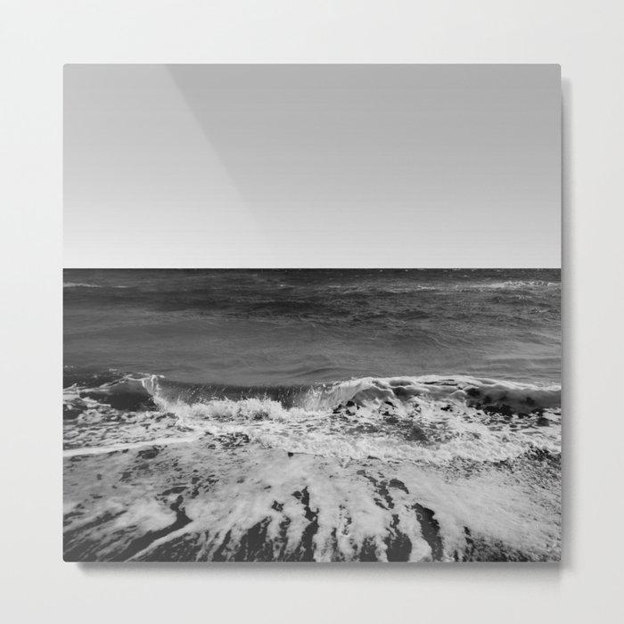 BEACH DAYS XVI BW Metal Print