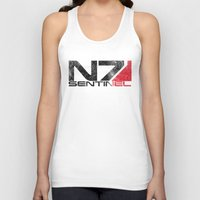 n7 Tank Tops featuring Alt Sentinel by Draygin82
