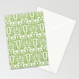 Swedish Folk Art - Greenery Stationery Cards