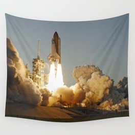 Space Shuttle Atlantis Wall Tapestry