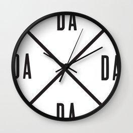 dada Wall Clock