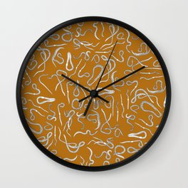 Scorched Earth(worms) Wall Clock