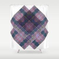 scandinavian Shower Curtains featuring Scandinavian orient by a.r.r.p.