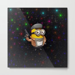 Minion Conqueror of The Universe Metal Print