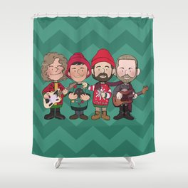 A Killers Holiday Shower Curtain