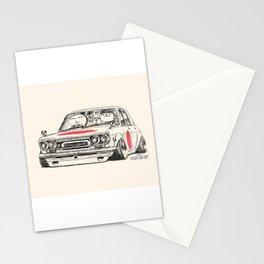 Crazy Car Art 0173 Stationery Cards