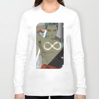 infinity Long Sleeve T-shirts featuring Infinity by Cassandra Jean