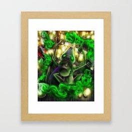 Cunja Passé Chat Framed Art Print