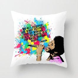 Aretha Throw Pillow