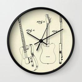 Guitar-1951 Wall Clock