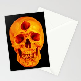 3rd Eye Contact (Orange) Stationery Cards