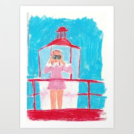 Suzy Art Print