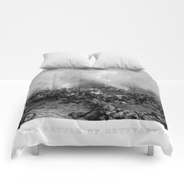 The Battle of Gettysburg Comforters