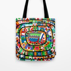 Planet of all good people Tote Bag