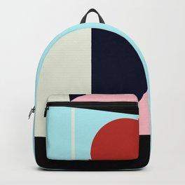 Circle Series - Red Circle No. 5 Backpack
