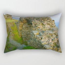 Dinas Bran Castle Ruins Rectangular Pillow