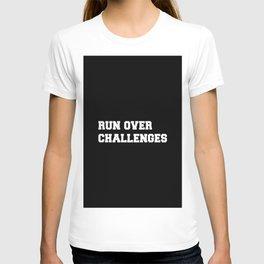 RUN OVER CHALLENGES T-shirt