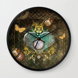 Steampunk, noble design Wall Clock