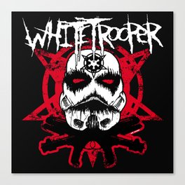 Whitetrooper Canvas Print