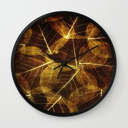 Autumn  VI Wall Clock