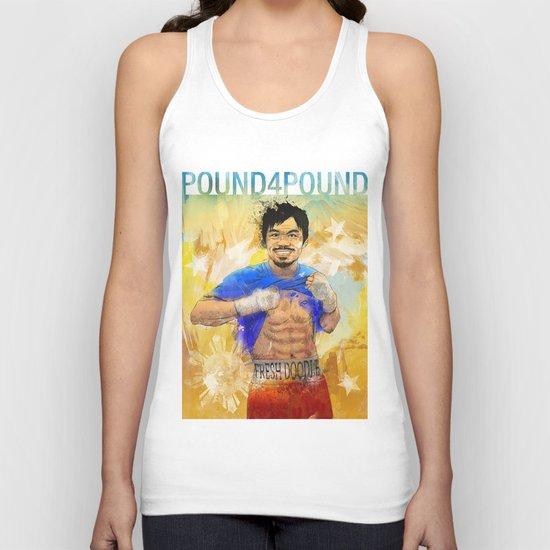 Manny Pacquiao - Pound 4 Pound Unisex Tank Top